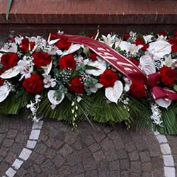 allestimento floreale funerale